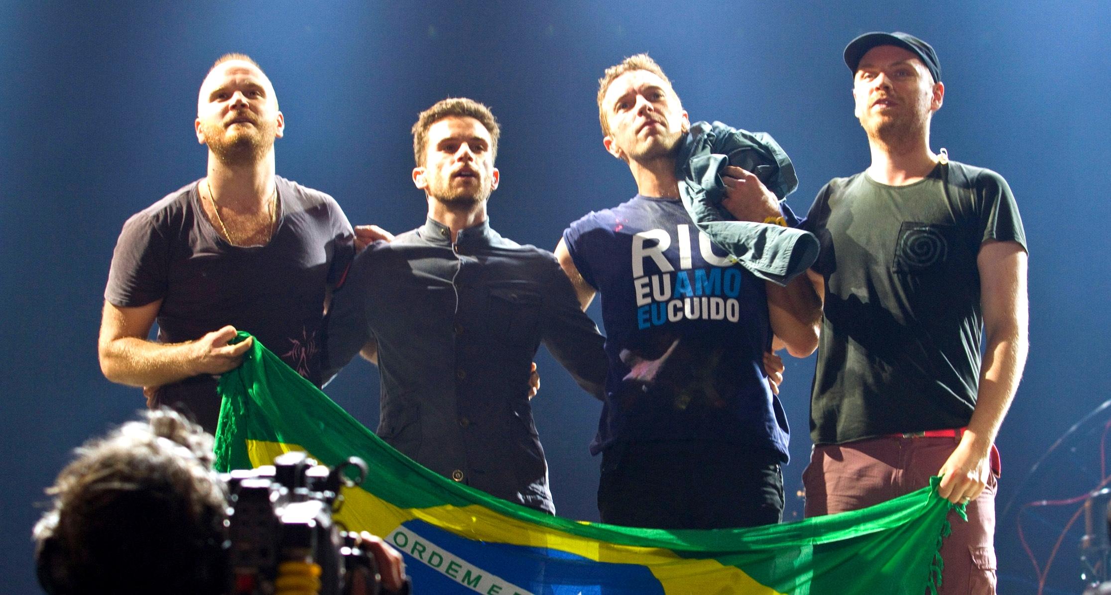 Coldplay Rock in Rio 2011 Marcos Hermes
