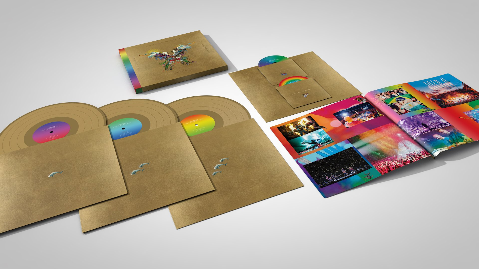 Coldplay Butterfly Package
