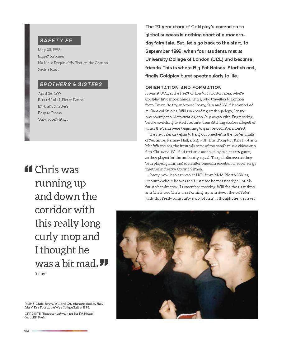 Coldplay Life in Technicolor Debs Wild Book