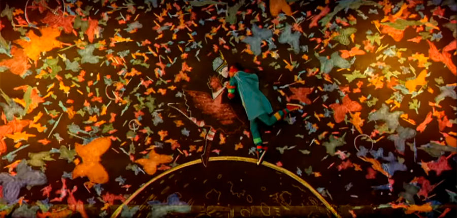 coldplay strawberry swing music video