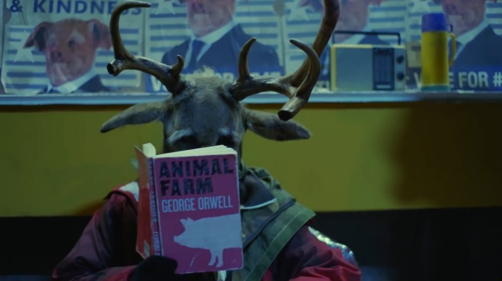 Coldplay Trouble In Town Video George Orwell Animal Farm