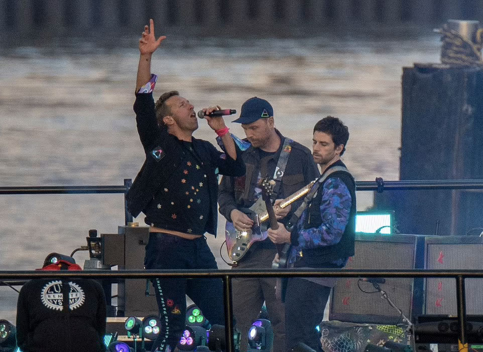 coldplay brit awards